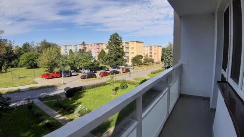 Byt 4+1 v osobním vlastnictví s garáží v Přerově na ulici Kabelíkova - lodžie
