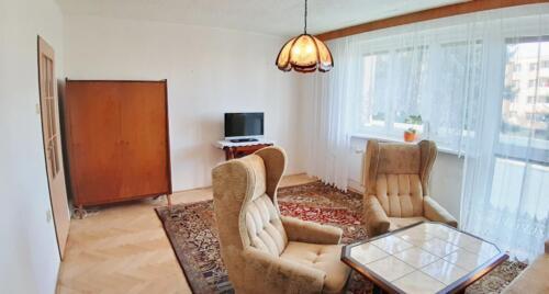 Byt 4+1 v osobním vlastnictví s garáží v Přerově na ulici Kabelíkova - obývací pokoj