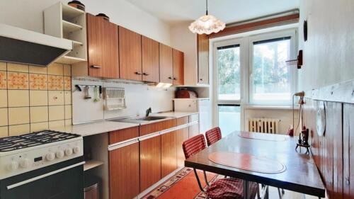 Byt 4+1 v osobním vlastnictví s garáží v Přerově na ulici Kabelíkova - kuchyně