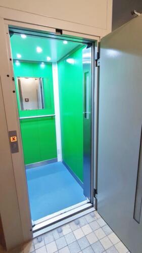 Byt 4+1 v osobním vlastnictví s garáží v Přerově na ulici Kabelíkova - výtah