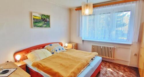 Byt 4+1 v osobním vlastnictví s garáží v Přerově na ulici Kabelíkova - Ložnice