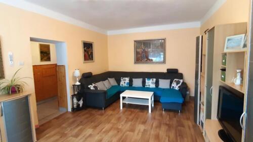 Rodinný dům Fulnek - obývací pokoj