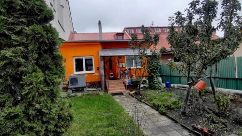Rodinný dům Fulnek - dvůr