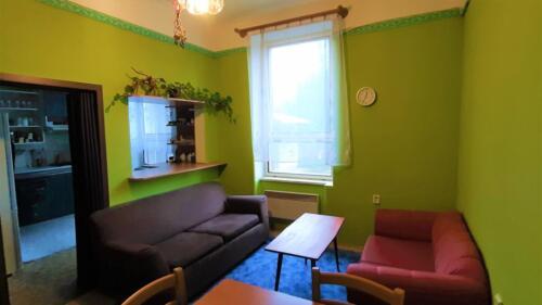 Rodinný dům Kojetín - obývací pokoj