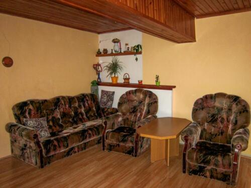 Rodinný dům Trusnov - obývací pokoj