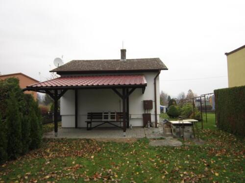 Chata Osek nad Bečvou - pergola