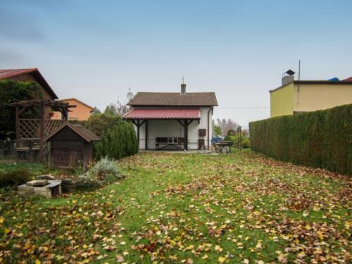 Chata Osek nad Bečvou - zahrada